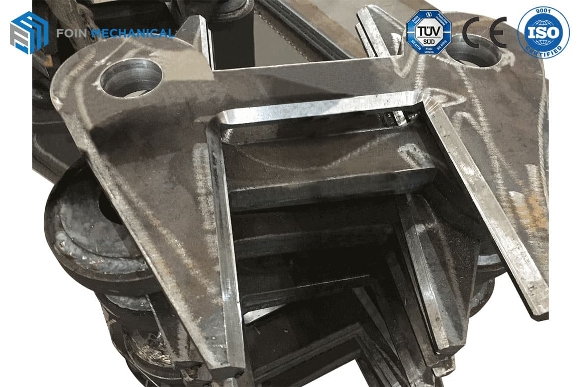 All Welding Parts Prefabricated Groove by Maching