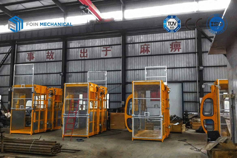 Assembled Construction Elevator of foin tower crane