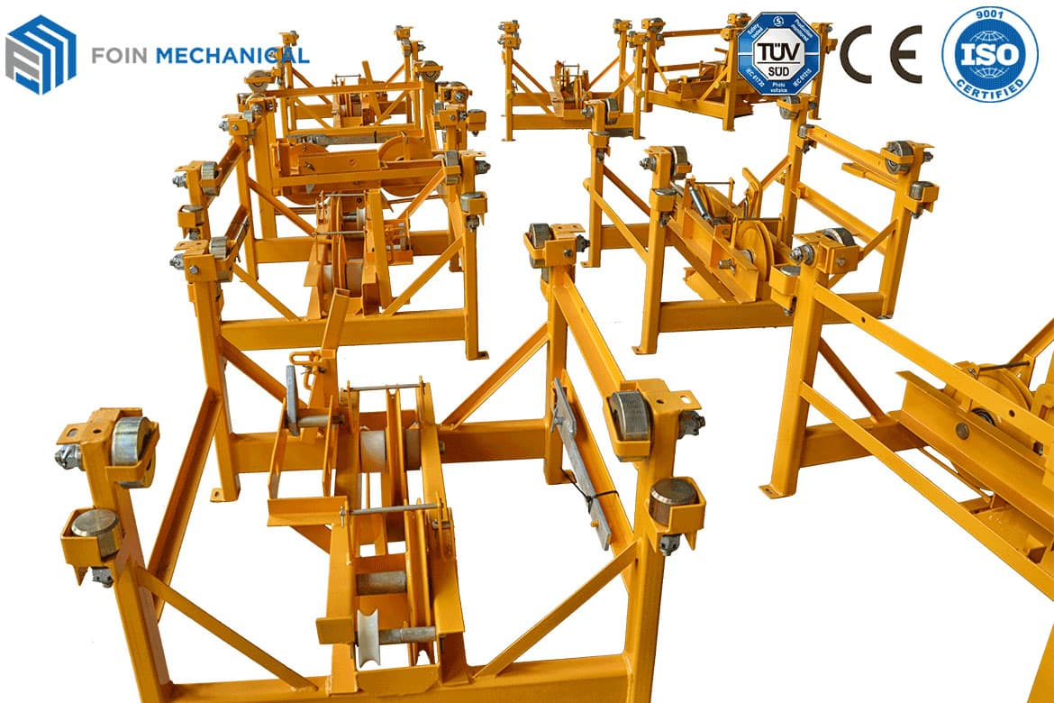 Assembled Trolley of tower crane