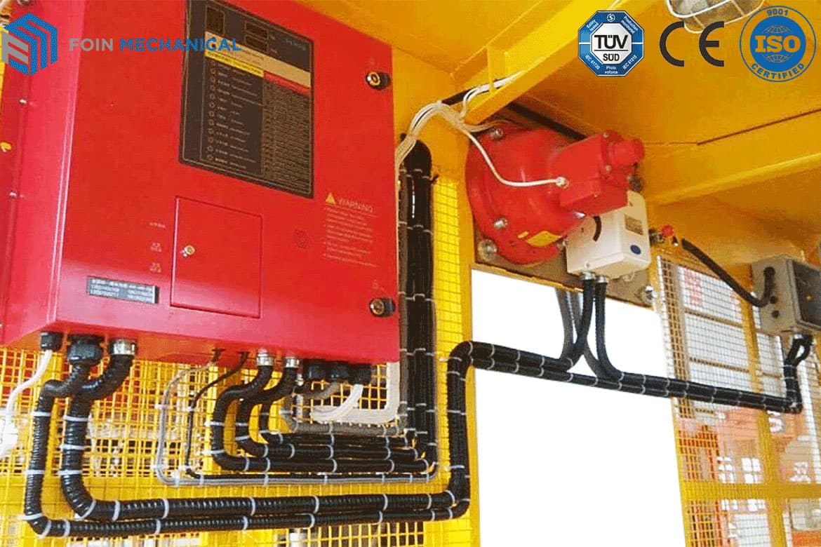 Construction Elevator Electric Control System of foin tower crane