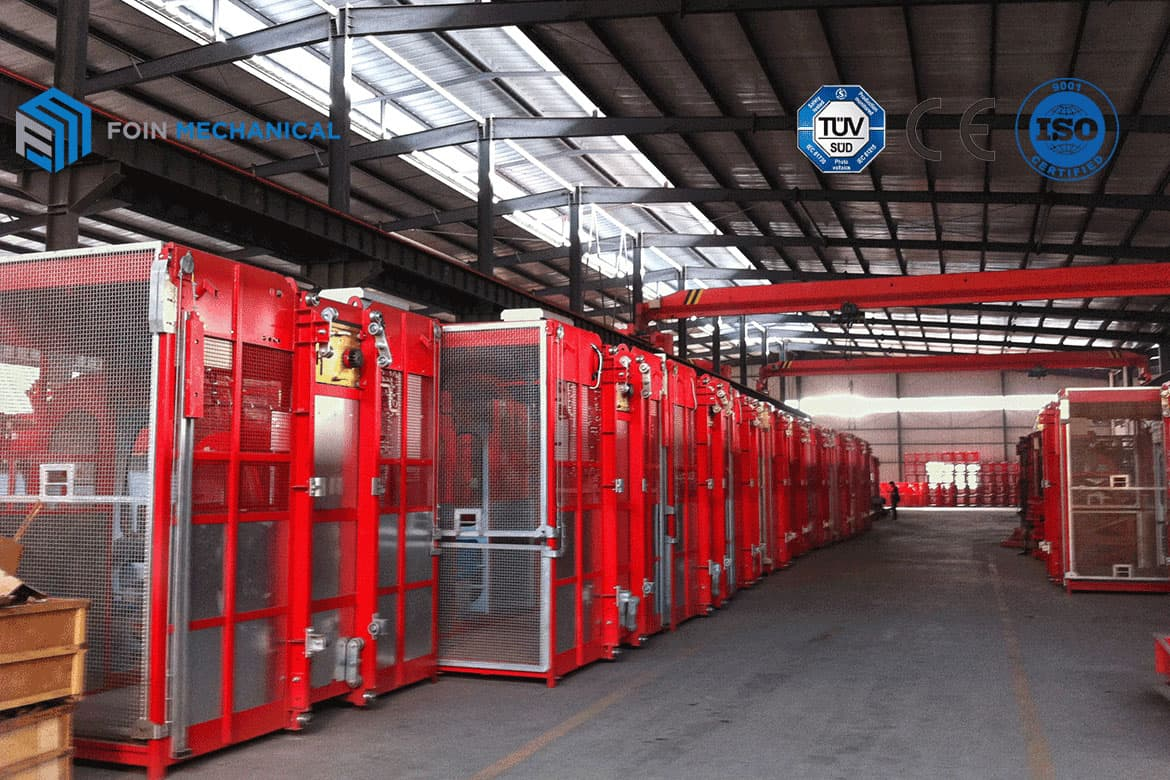 Construction Elevators Available Stock