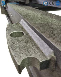 Details of Sandblasting Mast Section