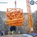 External Hammerhead tower crane service for power plant