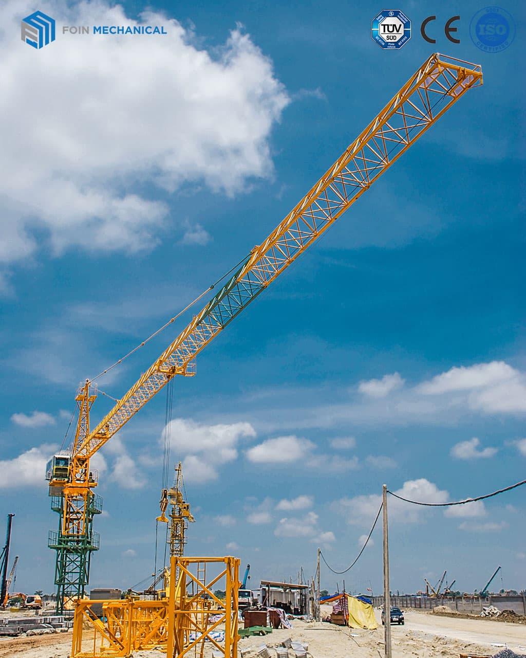 External hammerhead tower crane 6015-8T