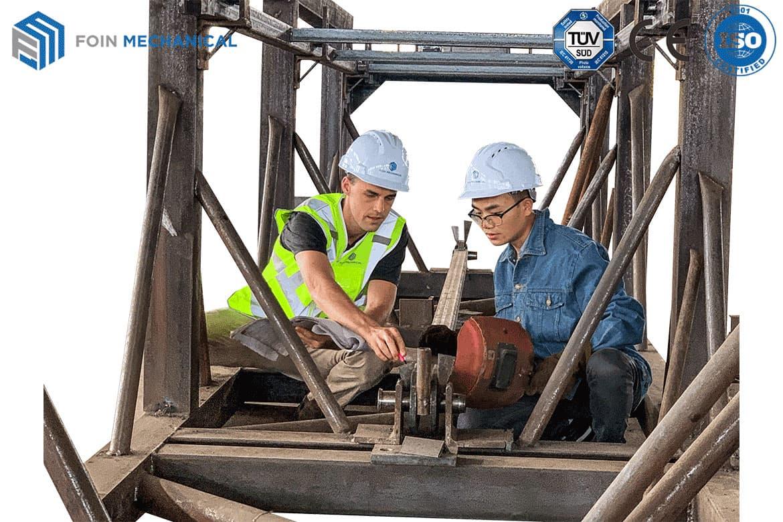FOIN tower crane European Technicians