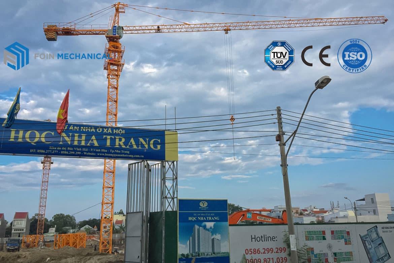 Hammerhead tower crane 5613-6T