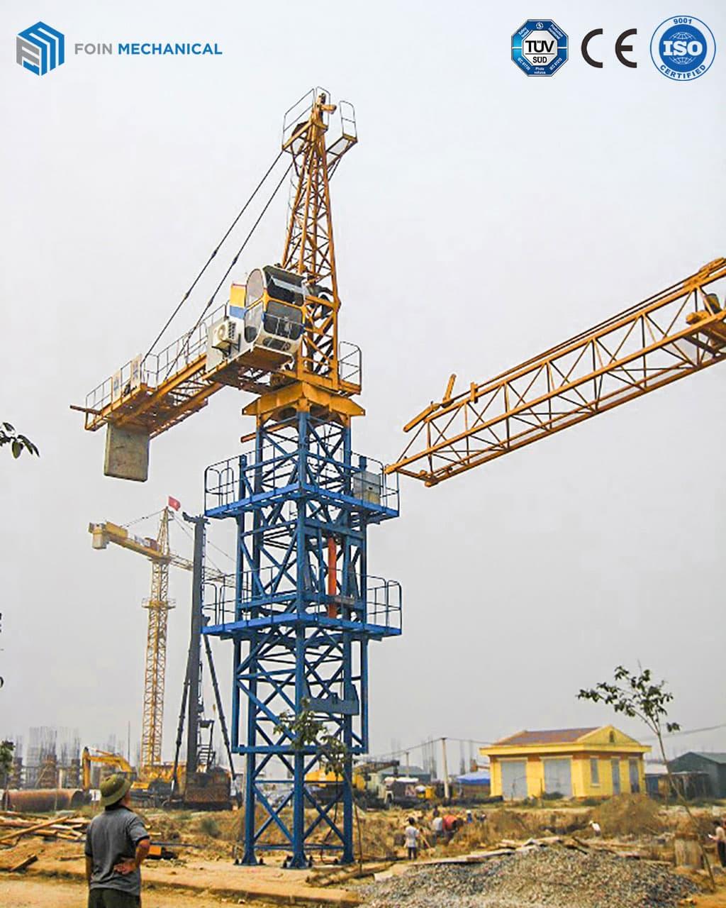 Hammerhead tower crane 6010-8T