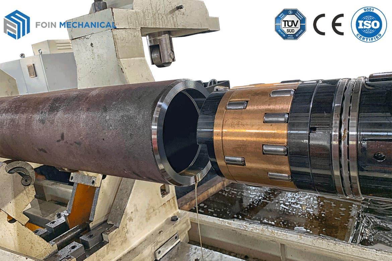 Hydraulic Cylinder Boring Process of tower crane