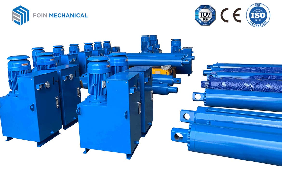 tower crane Hydraulic Pump and Cylinder Warehouse