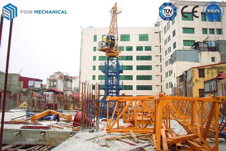 Internal hammerhead tower crane 6015-8T