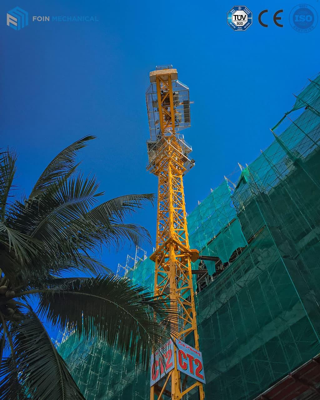 Luffing tower crane 4015-6T