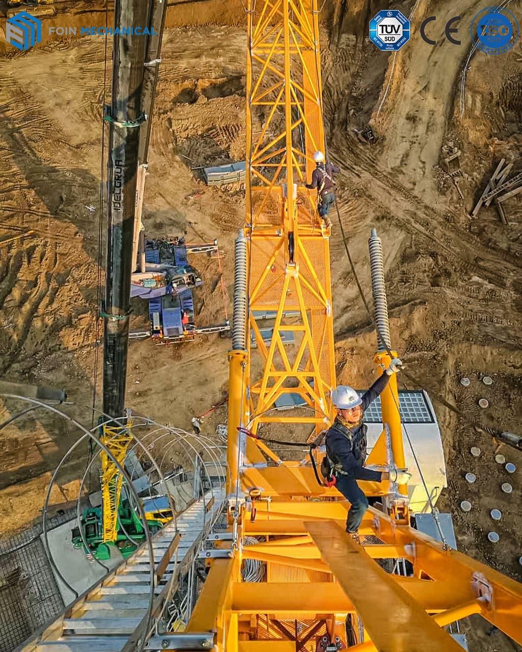 Luffing tower crane 6025-16T