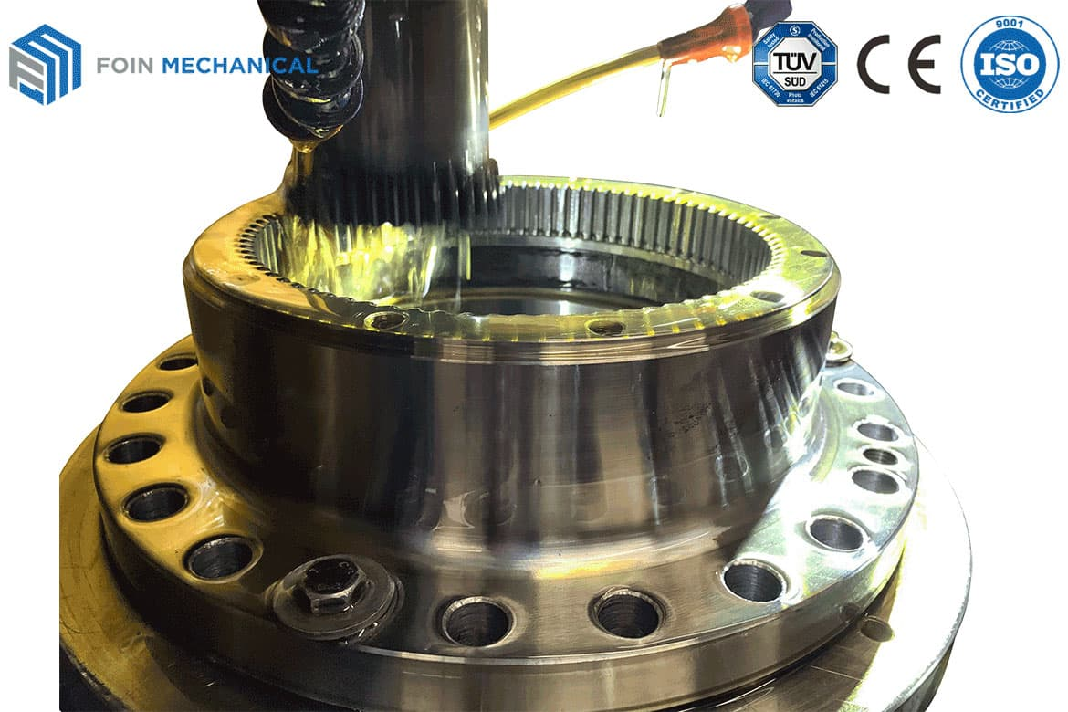 Tower Crane Slewing Mechanism Gear Shaping Process