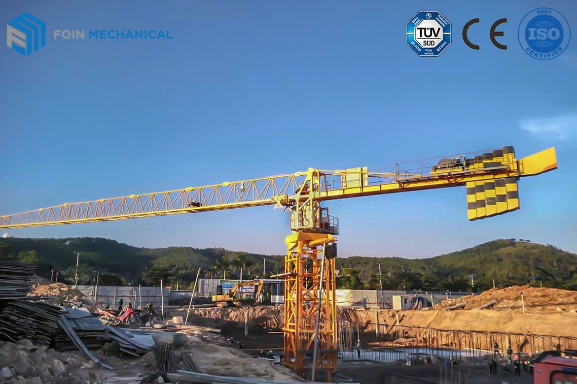 Topless Tower Crane-6015-8T