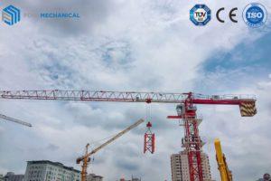 FOIN Topless tower crane 6015-8T in Vietnam