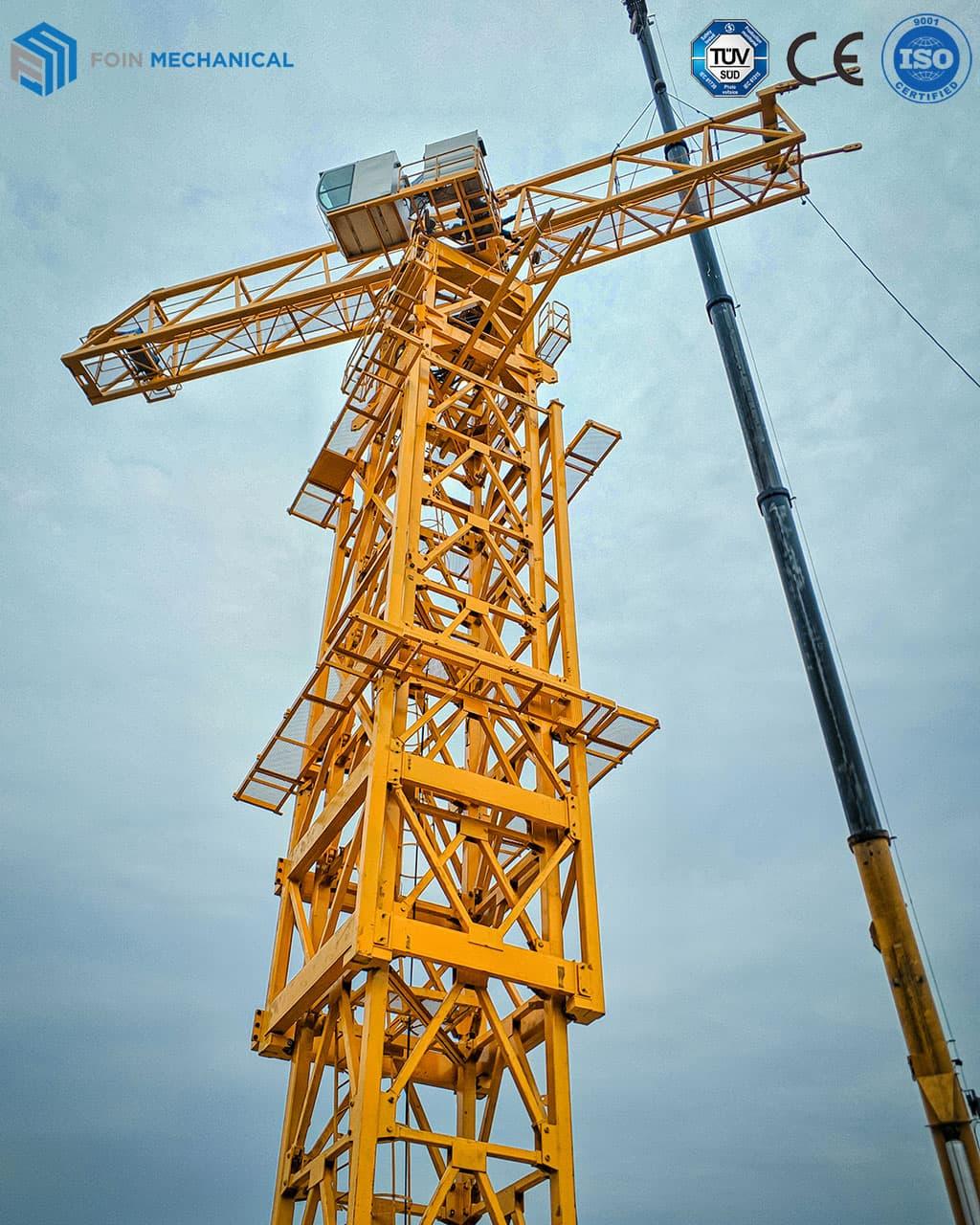 Topless tower crane TL8522-25T