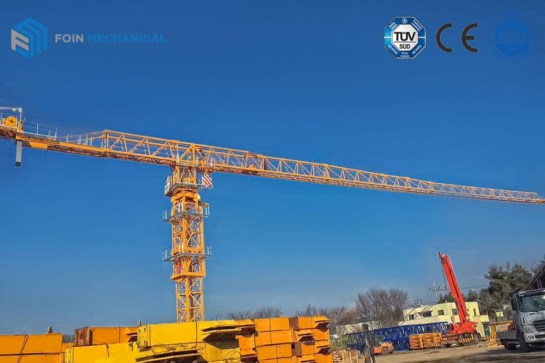 Topless tower crane TL6515-10T
