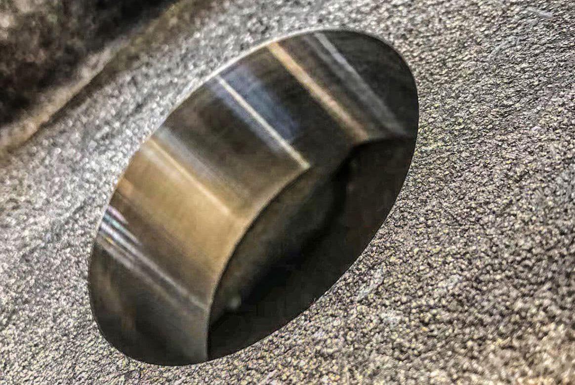 Pin Hole Boring Process