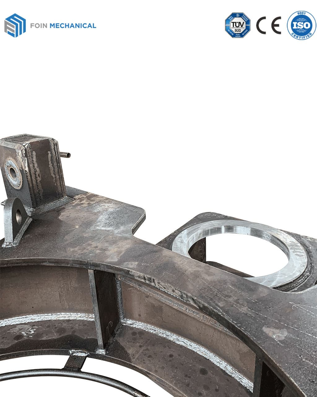 upper Slewing Mechanism Seat Machining by CNC