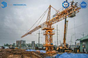 hammerhead tower crane TK5015-6T