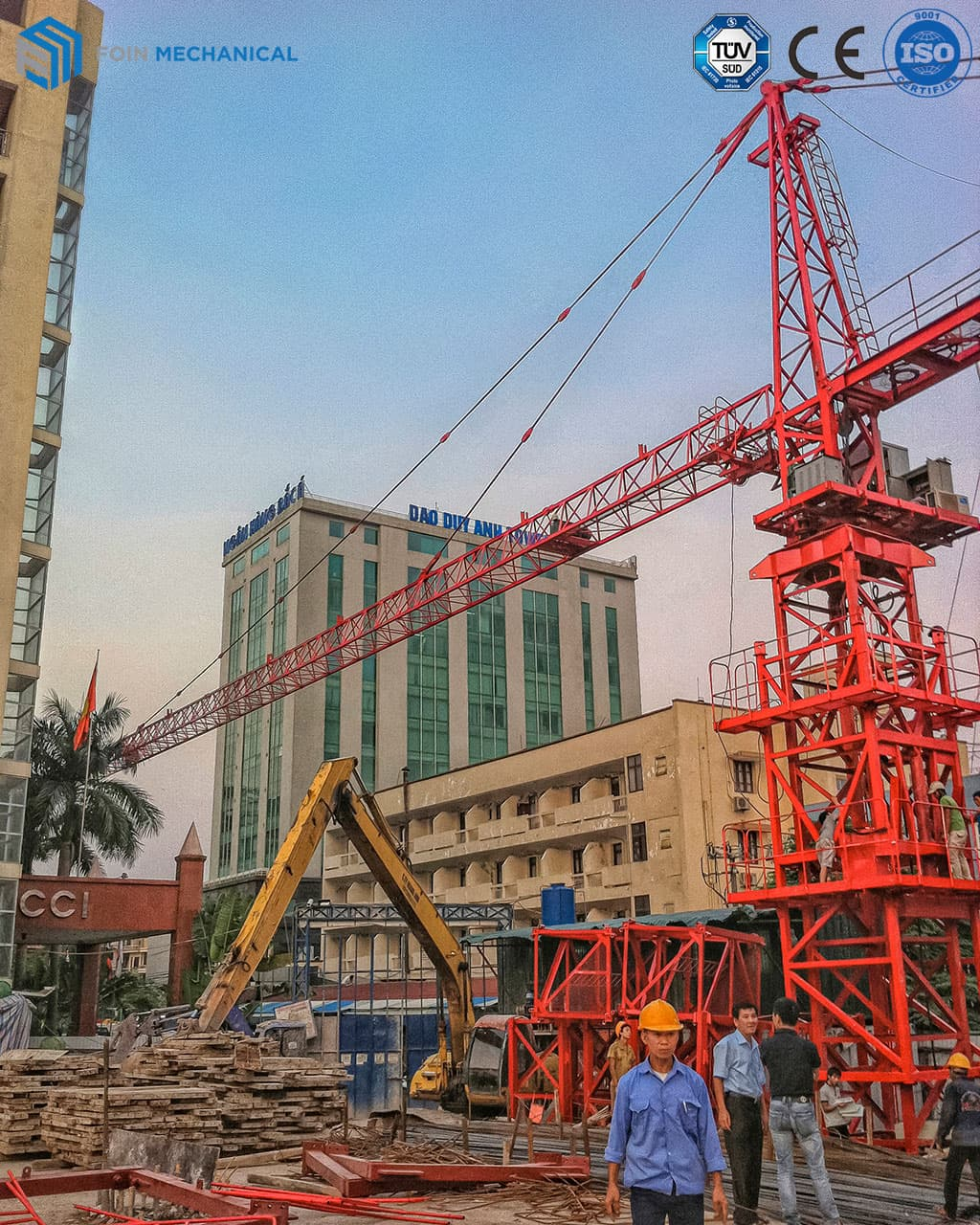 topkit tower crane 5513-6T