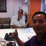 foin tower crane Customer Visit