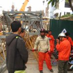 Deliver and Assembly FOIN Tower Crane