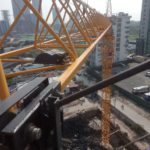 foin tower crane Inspection before handing