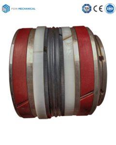 Multi-layer seal piston
