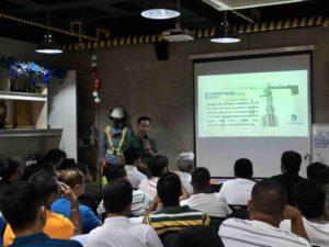 FOIN tower crane Attend Philippine Builders Association Speech