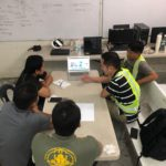 Philippine Installation Team Discusses Technical Issues