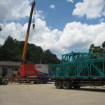 FOIN Tower Crane Transport and Handover