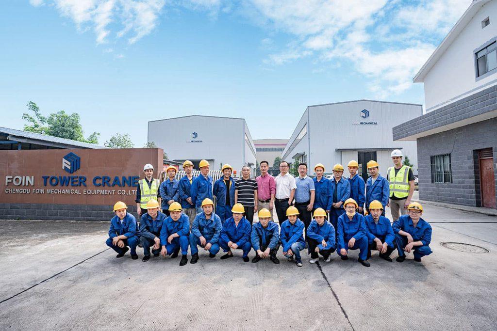 foin tower crane factory